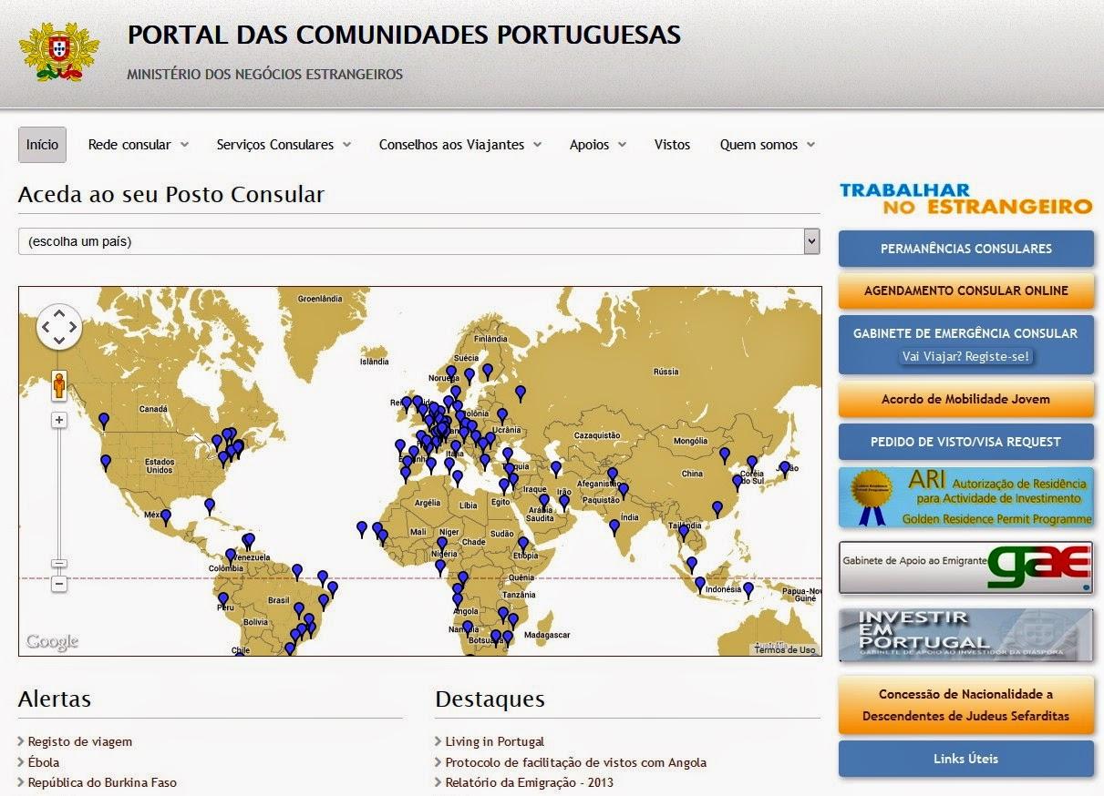 Novo Portal Das Comunidades Portuguesas Not Cias A